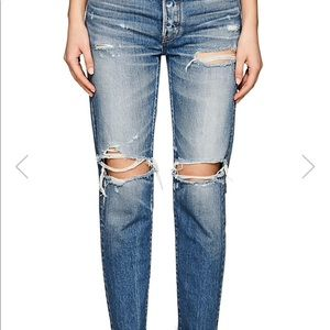 moussy Jeans - $350 Moussy Garnet Japanese Distressed Jeans